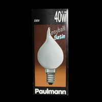 Paulmann 516.40 Cosyball Satin 40W Kerze Glühbirne...