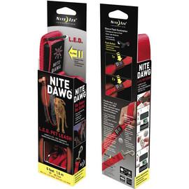 LED Sicherheits Leine Hundeleine NITE DAWG Pet Leash Leuchtleine