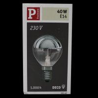 Paulmann 300.40 Glühbirne E14 Tropfen Kopfspiegel...