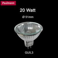 Paulmann 832.44 Halogen Reflektor Birne 20W Gu5.3 dimmbar...
