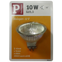 Paulmann 832.42 Halogen Reflektor Birne 10W Gu5.3 dimmbar...