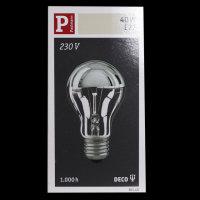 Paulmann 301.40 Glühbirne E27  Glühlampe...