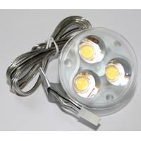 ERSATZ LED Leuchtmittel Paulmann 3x1W 350mA WARMWEIß