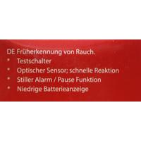 6 Stück SMARTWARES RM218 10 J. Rauchmelder...