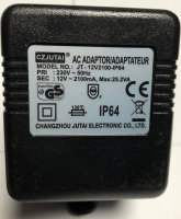LED Trafo wasserdicht JT-12V2100-IP64 AC 25.2V Netzteil...