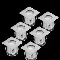6er LED Bodeneinbauleuchten Gartenleuchten...