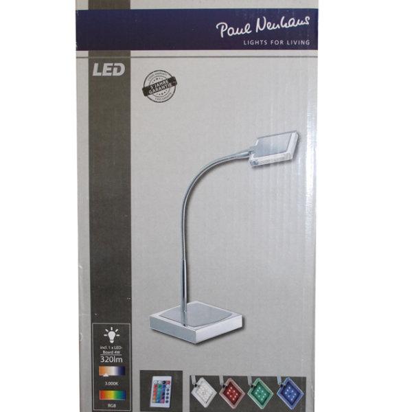 LED Farbwechsel Schreibtischlampe dimmbar Fernbedienung Tischlampe Tischleuchte