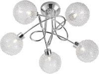 Moderne Deckenlampe BUBBLZ 5-armig Halogen Deckenleuchte...