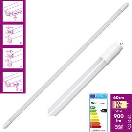 10W LED Leuchtröhre 900 lm T6 G13 60cm Leuchstoffröhre warm weiß 3000K