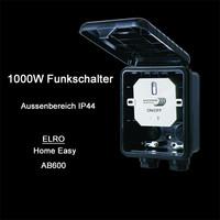 ELRO Home Easy Funk Schaltkasten HE866 Außenbereich...
