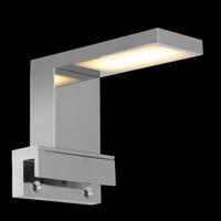 LED Spiegellampe CHROM Spiegel Lampe Flur Bad...