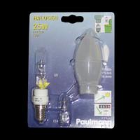 Paulmann 449.12 Halogen Glühbirne Kerze 25W Satin G9...