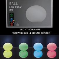 LED Tischlampe Farbwechsel Funktion & Soundsensor (...