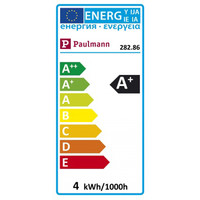 Paulmann 282.86 LED Reflektor Einbauleuchten Maxiflood 3,5W GU10 Softopal 230V