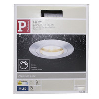 Paulmann 928.08  dimmbare 7W LED Einbauleuchten für...