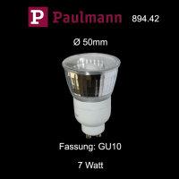 Paulmann 894.42 Energiesparlampe 7W GU10 Sparlampe...