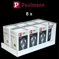 Paulmann 8 x kleine Glühbirne Tropfenlampe 40W E14...