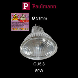 Paulmann 832.51 Halogen Security 50W Reflektor Birne GU5,3 EXN 38° flood dimmbar