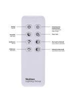 LED Deckenleuchte  dimmbar Fernbedienung Deckenlampe IVEN...