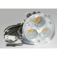 ERSATZ LED Leuchtmittel Paulmann 3x1W 350mA KALTWEIß