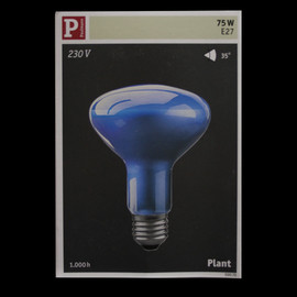 Paulmann 500.70 Pflanzenlicht Plant 230V Birne R95 Reflektor Glühbirne 75W