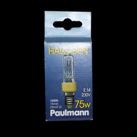 RARITÄT Paulmann 837.70 Halogen Glühlampe Glühbirne E14 75W 230V Halogenlampe