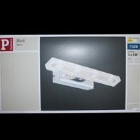 Paulmann Block Galeria 5W LED Bilderleuchte Chrom transparent 230V Metall Acryl