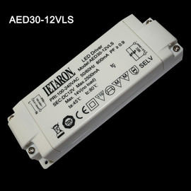 LEATRON AED30-12VLS LED Trafo Driver Netzteil DC12V max 2500mA max 14V  no load