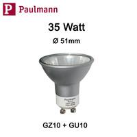Paulmann 836.01 Alu  AKZENT Halogen Reflektor Birne...