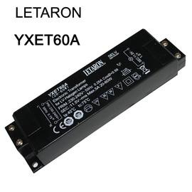 LETARON YXET60A Elektronischer Halogentrafo dimmbar 20W - 60W Transformator