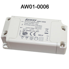 ANWAY  LED Trafo Driver Transformator Netzteil AW01-0006 3x1W 350mA Power Supply