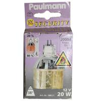 Paulmann 988.21 Halogen Dekozylinder 20W Krokoeis gold...