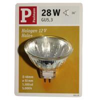 Paulmann 800.28 Halogen Reflektor Halo+ 28W 36°...