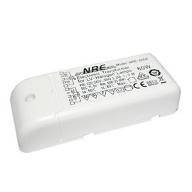 NRE-60DK Elektronischer Halogen Trafo klein 12V 60W dimmbar Transformator