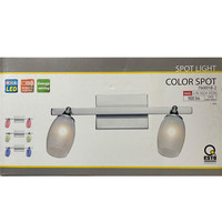 Farbwechsel Lampe Leuchte 2 Spots Fernbedienung...