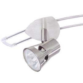Paulmann Teja 105 Spot Strahler Eisen gebürstet drehbar für Schienensytem GU5,3