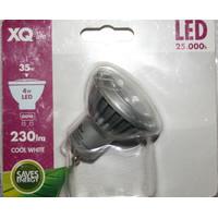 XQ1393 4W GU10 LED Strahler KALTWEIß Einbaustrahler...