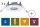 Nassraum Feuchtraum Einbauleuchten IP65, starr,Weiß, 3er Set 997.46 - 99746