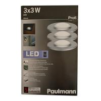 Paulmann 988.72 ALU LED Aufbauleuchten Laminat Wand...