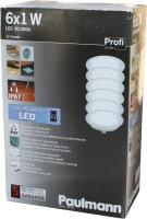6er LED Einbauleuchten-Set wasserdicht 12VA, IP67, 987.58...