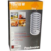 Paulmann 985.95 Starline 10x10W Einbauleuchten...
