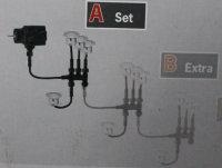 Paulmann Profi LED Mini Boden Einbauleuchten Basis-Set 4x0,6W Edelstahl RUND 988.68 - 98868