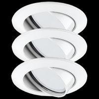 Paulmann Premium Aluminium Einbauleuchten Bad Feuchtraum...