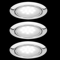 Paulmann Micro Line LED Möbel Einbauleuchten, CHROM...