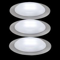 Nice Price 3er LED Einbauleuchten-Set 3630 12VA, IP44...