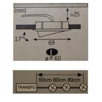 Paulmann Micro Line Möbel Einbauleuchten Strahler...